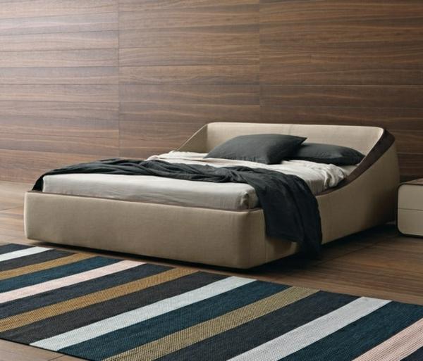 lit-double-moderne-Brera-Presotto-beige-marron-clair