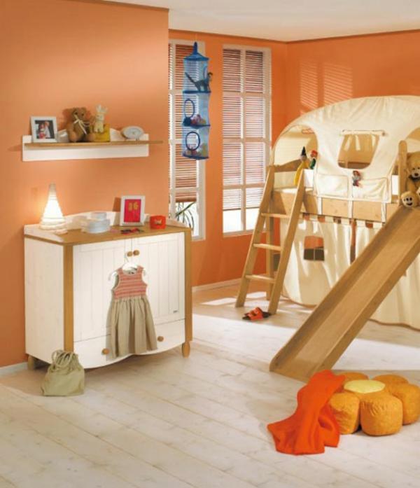 magnifique-chambre-de-fille-avec-un-lit-mezzanin