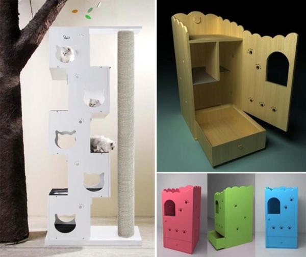 maisonnette-pour-chat-designs-créatifs