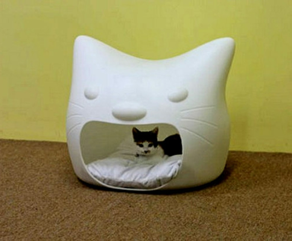 maisonnette-pour-chat-mignonne