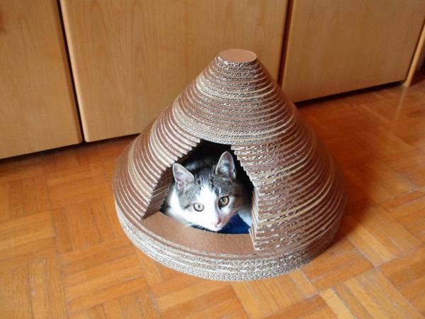 maisonnette-pour-chat-petite-taille