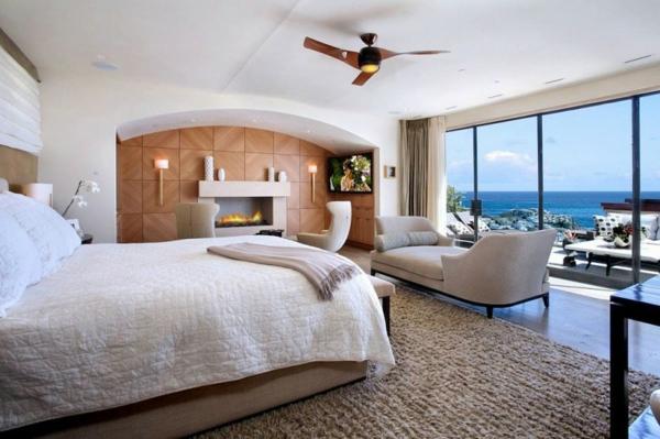 maisons-contemporaines-chambre-à-coucher-dans-une-maison-contemporaine