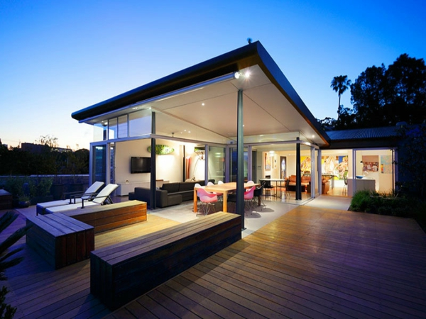maisons-contemporaines-extérieur-planches-de-bois