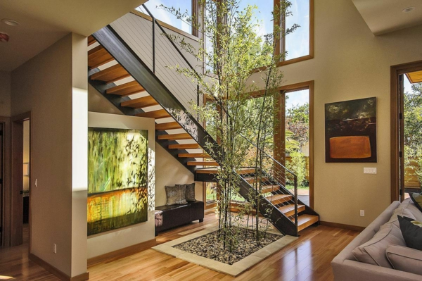 Les maisons contemporaines fonctionnalit maximale et design spectaculaire - Escalier maison contemporaine ...
