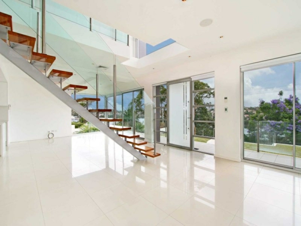 Les maisons contemporaines fonctionnalit maximale et design spectaculaire for Interieur maison moderne blanc