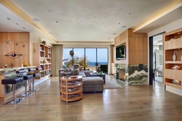 Les maisons contemporaines fonctionnalit maximale et for Eclairage maison interieur