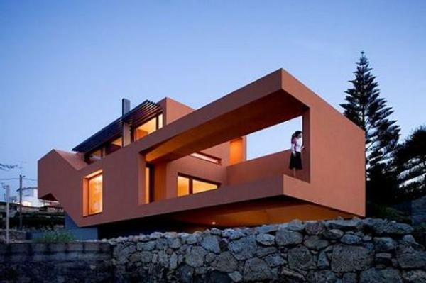 maisons-contemporaines-maison-moderne-orange