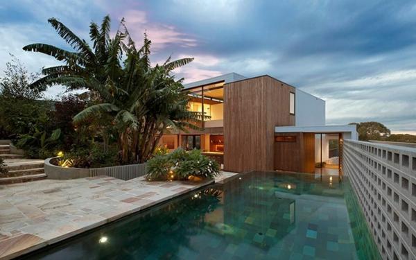 maisons-contemporaines-piscine-rectangulaire