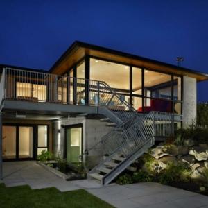Les maisons contemporaines - fonctionnalité maximale et design spectaculaire