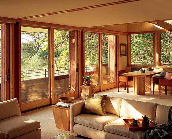 maisons-contemporaines-un-espace-intérieur-en-beige