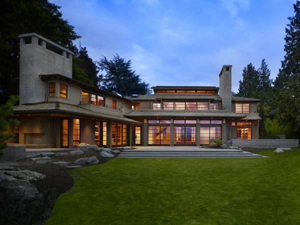 Les maisons contemporaines fonctionnalit maximale et for Maison tres moderne