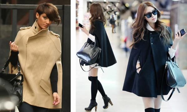 manteau-cape-designs-différents