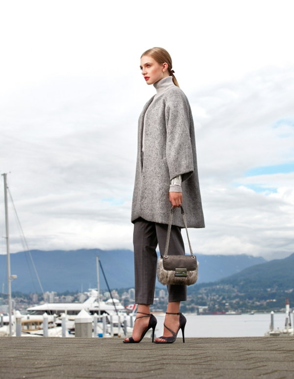 manteau-cape-gris