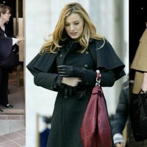 Le manteau cape - rétro chic moderne
