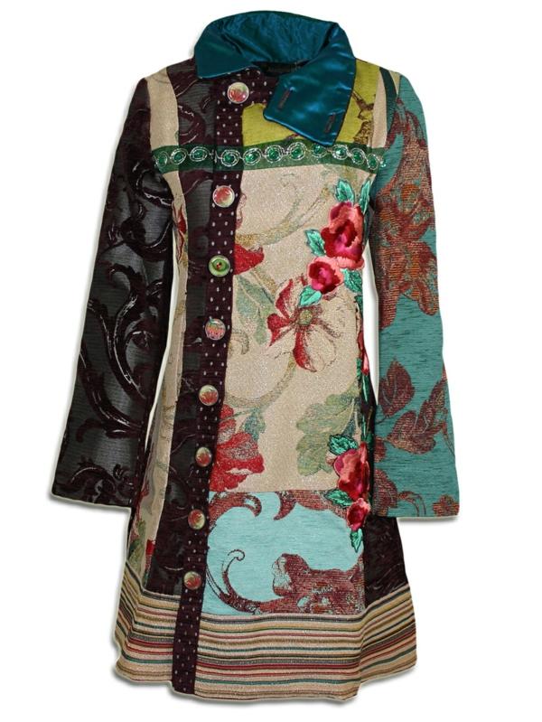 manteau-desigual-col-en-cuir