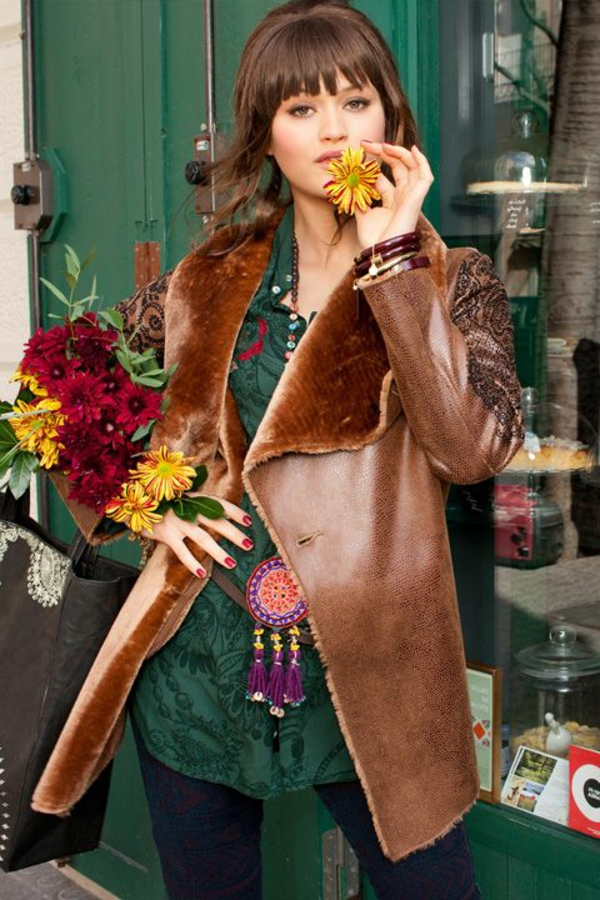 manteau-desigual-marron