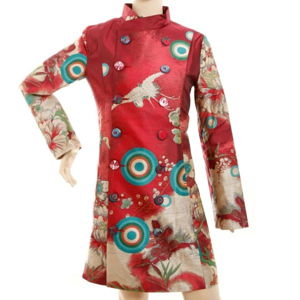 manteau-desigual-modèle-multicolore