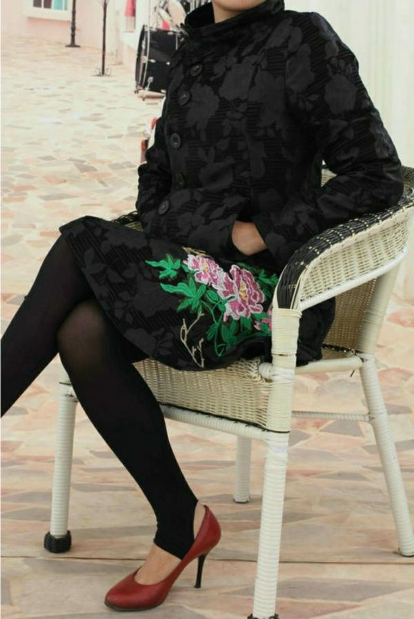 manteau-desigual-noir-dentelle