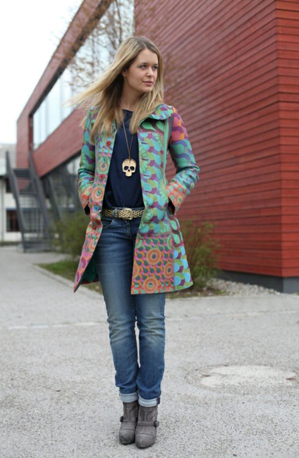 manteau desigual un manteau color lgant - Manteau Femme Color