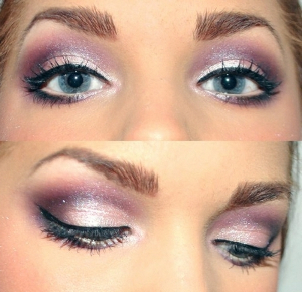 maquillage-smokey-eyes-couleur-pourpre-effet-satiné