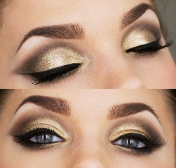 maquillage-smokey-eyes-effe-doré-et-ligne-des-cils-dramatique