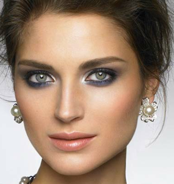 maquillage-smokey-eyes-idées-maquillage-original