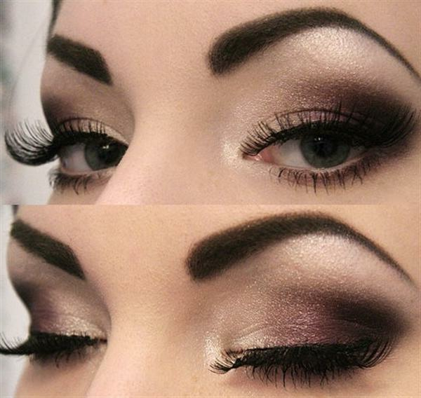 maquillage-smokey-eyes-nuances-noire-et-marronn
