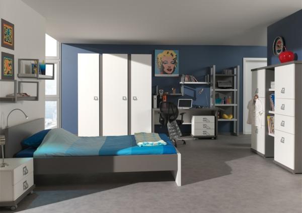 mderne-chambre-à-coucher-pour-votre-confort-en-bleu