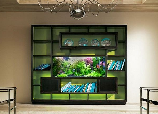 meuble-aquarium-étagères-murales-modernes