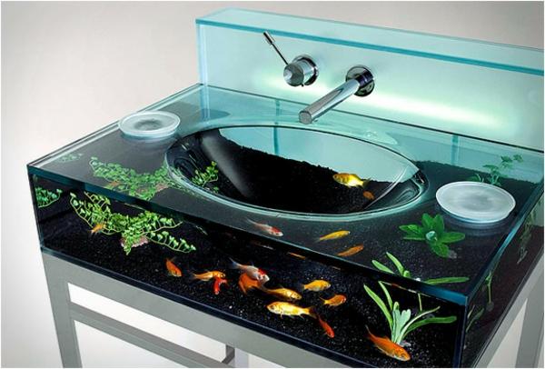 La Decoration Avec Un Meuble Aquarium