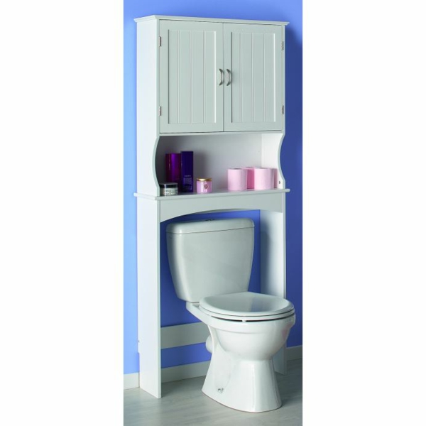 Le meuble wc for Meuble dessus wc