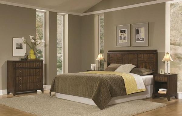 Moderne chambre coucher compl te - Choix de couleurs pour une chambre ...