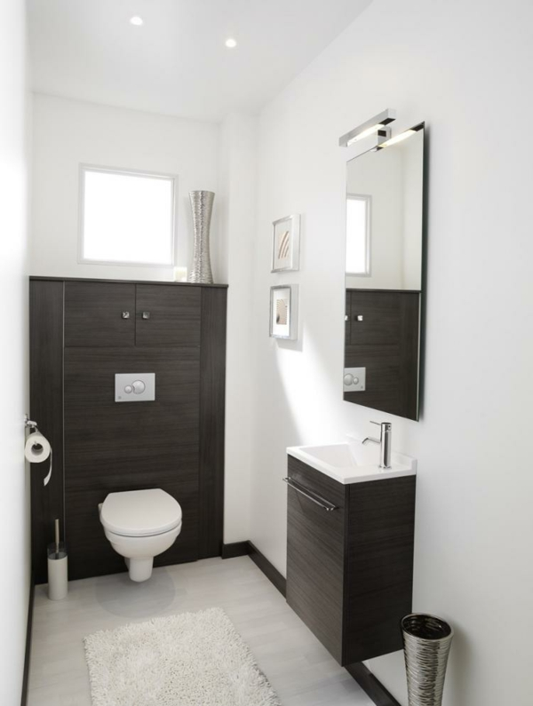 Le meuble wc - Decoration des toilettes design ...