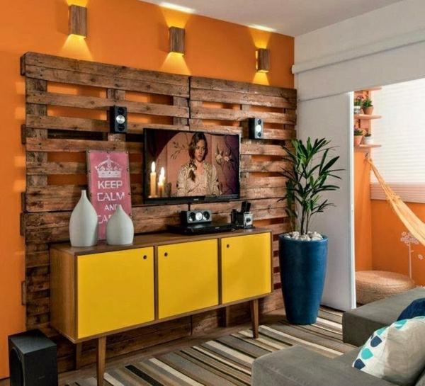 meubles-en-palettes-jolie-déco-murale-en-palettes