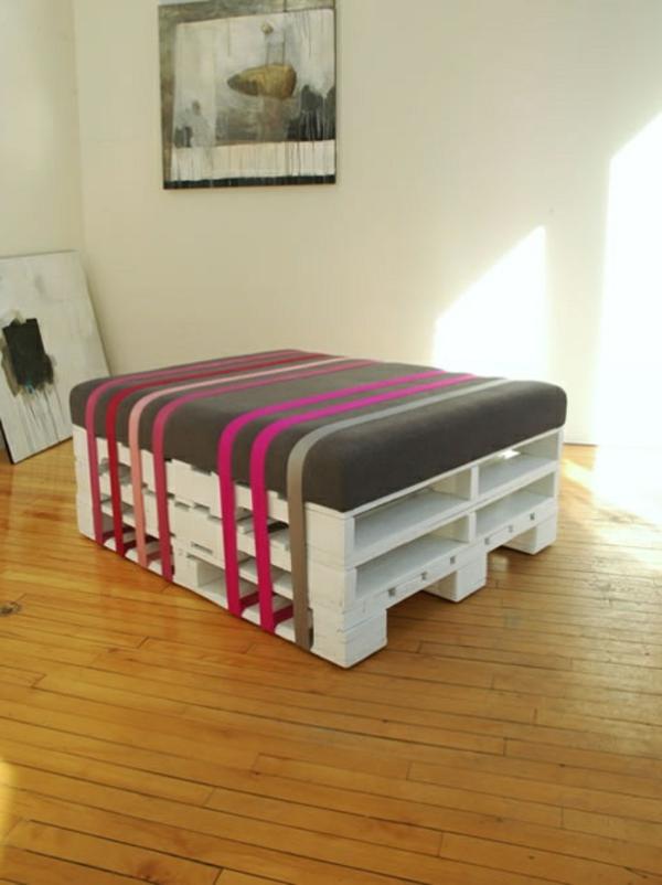 Id es originales de meubles en palettes - Idees transformer palettes en meuble design ...