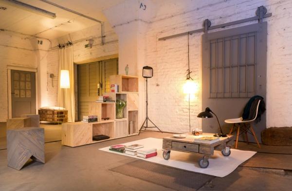 meubles-en-palettes-intérieur-loft-une-table-basse-en-bois-de-palettes