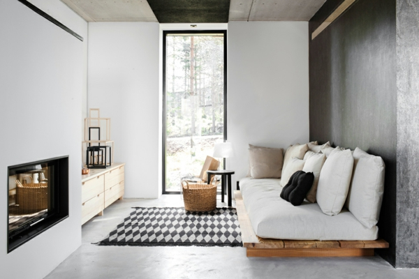 Id es originales de meubles en palettes - Palette de couleur scandinave ...