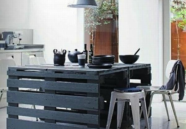 Häufig Idées originales de meubles en palettes - Archzine.fr NH51