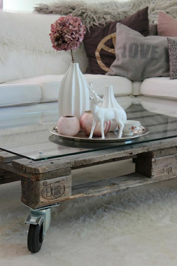 Table - Fabriquer table basse en palette ...