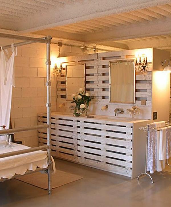 id es originales de meubles en palettes. Black Bedroom Furniture Sets. Home Design Ideas