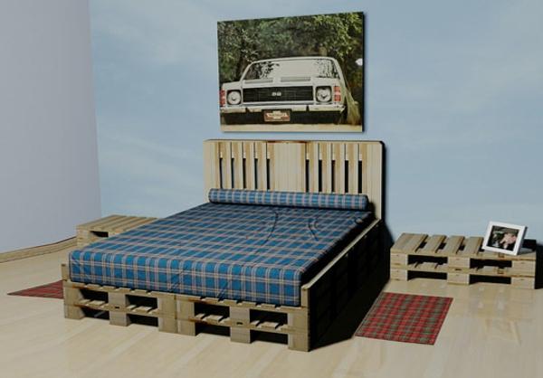 meubles-en-palettes-chambre-à-coucher-un-style-unique