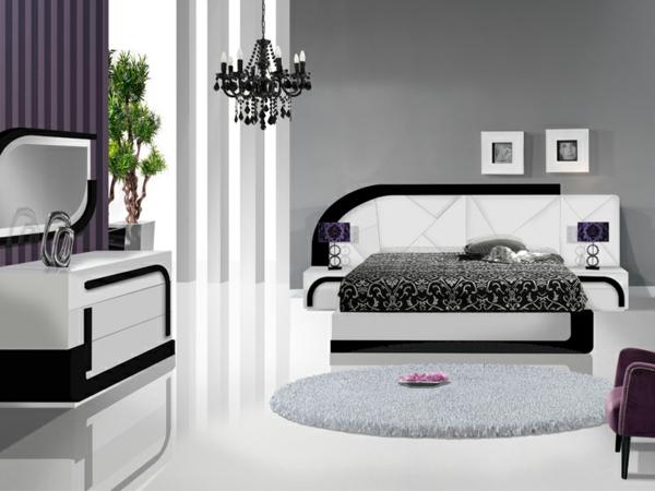 meubles-portugais-chambre-design-laque-bicolore-unique-design-en-blanc-et-noir-et-violet