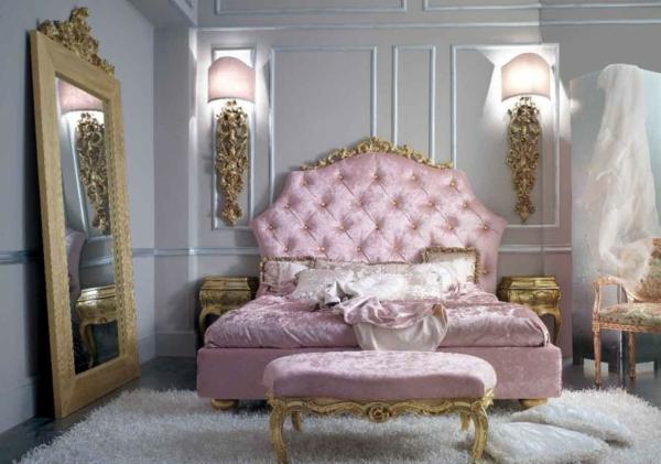miroir-baroque-chambre-à-coucher-un-style-féminin