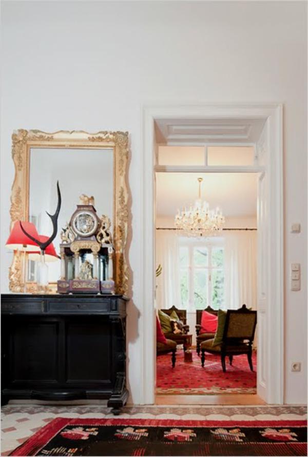 miroir-baroque-encadrement-doré