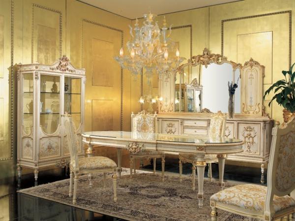 miroir-baroque-salle-de-déjeuner-baroque