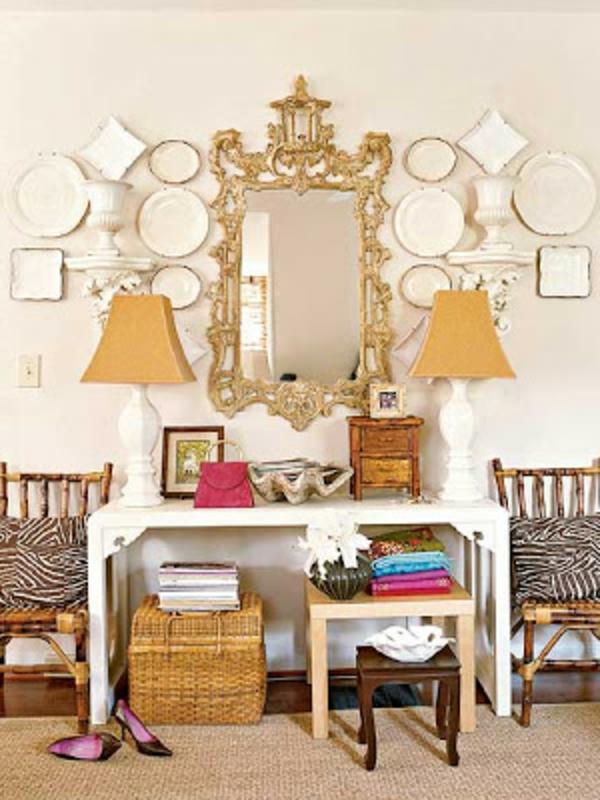 miroir-baroque-table-coiffeuse-et-deux-lampes-baroques