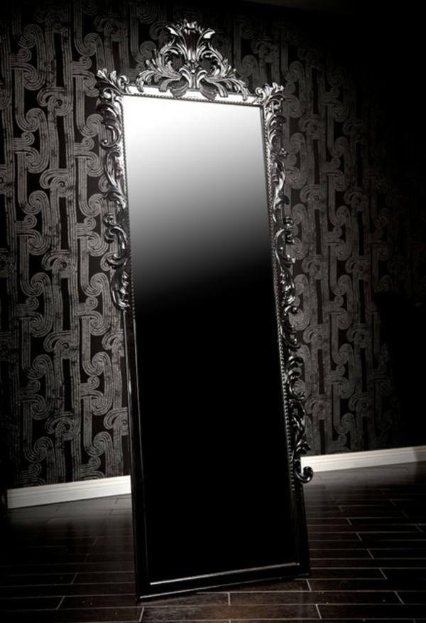Le miroir baroque est un joli accent d co for Miroir baroque rectangulaire