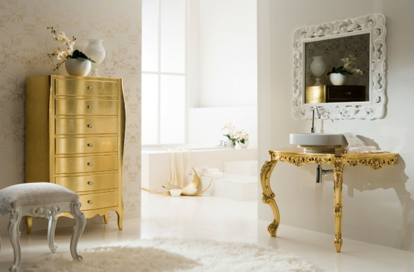 Le Miroir Baroque Est Un Joli Accent D Co