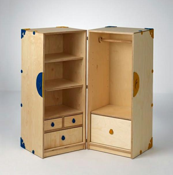mobilier enfant écologique-armoire-pliable
