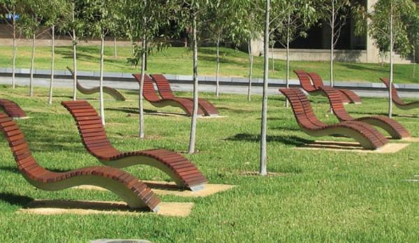 Designs innovants de mobilier urbain for Mobilier urbain espace public